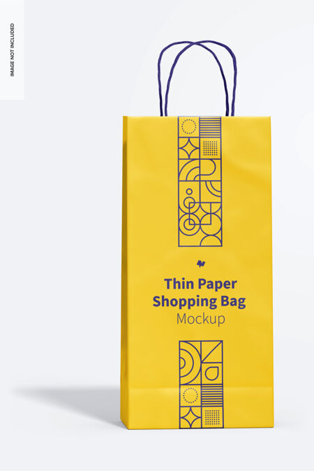 薄纸购物袋模型
