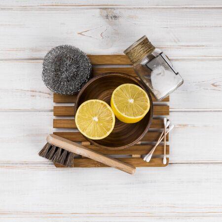 室内生态清洁剂和海绵