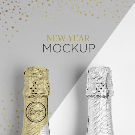 香槟颈瓶模型